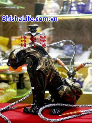 bình shisha bào đen