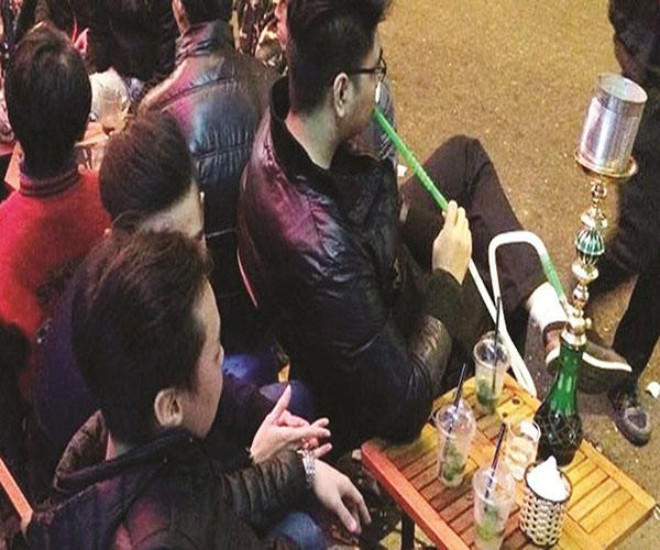 Hút shisha ở Quận Hoàn Kiếm