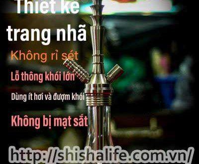 Các cách kiểm tra bình shisha có bị hở khói hay không