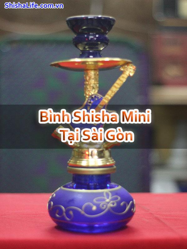 Bình Shisha Mini Tại Sài Gòn