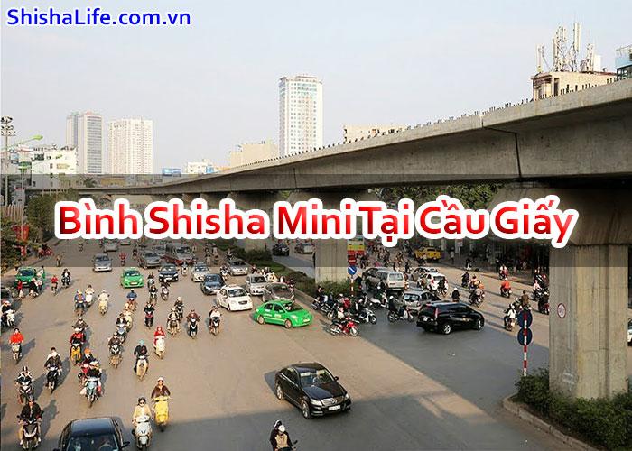Bình Shisha Mini Tại Cầu Giấy